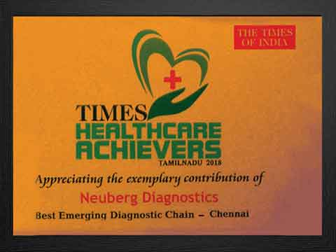 Best Emerging Diagnostic chain
