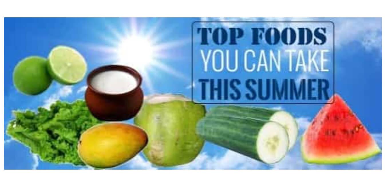 Foods In Summer